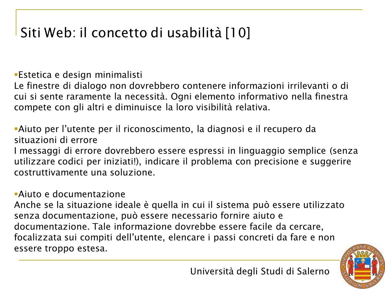 Siti Web: il concetto di usabilità [10]
